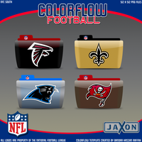 Colorflow Football Set 1 by JayJaxon