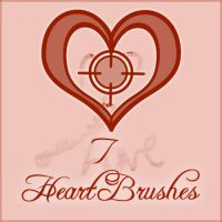 Heart Brushes by Akissi