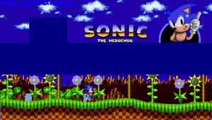 Sonic The Hedgehog Wallpaper by GoldenfrankO