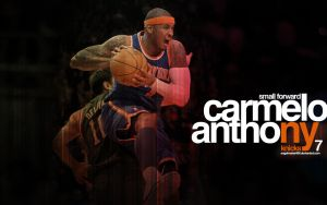 Carmelo Anthony Knicks Wall 2 by IshaanMishra
