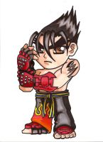 Pocket Fighter - Jin Kazama by fastg35