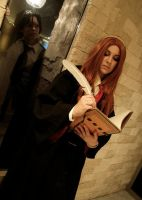 Lily Evans - Creeper Snape XD by moonflower-lights