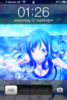 Iphone 4 Fairy Tail Juvia Lockser by Akw-Art-Design
