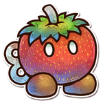 Strawberry Bob-omb by Cavea