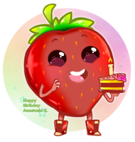 HB Strawberry by Fannochka