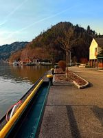 River Danube valley, at the harbour by patrickjobst