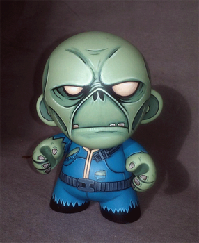Fallout Ghoul Mini-Munny by ReverendBonobo
