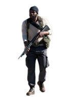 Tyreese the walking dead render by twdmeuvicio