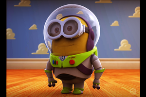 Minion Lightyear (Dave) by HereticTemplar