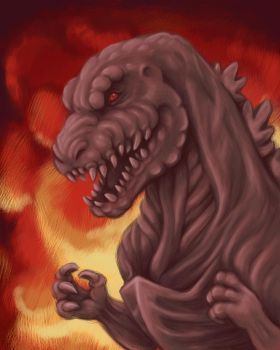 Shin Godzilla by tin-tower
