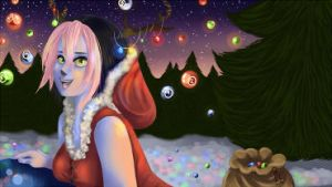 Osu! christmas contest (small size) by Thildou-chan