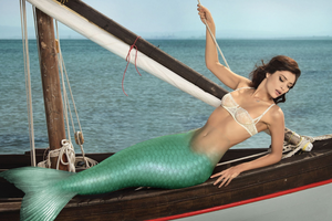 Mermaid at the Mast by SeaFairy-Fantasies