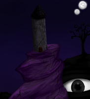 The nightmare tower by my-darkness