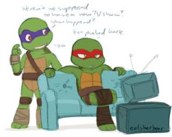 Don n Raph by evilsherbear