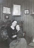 My grandmother and her mother by Darkedraveness