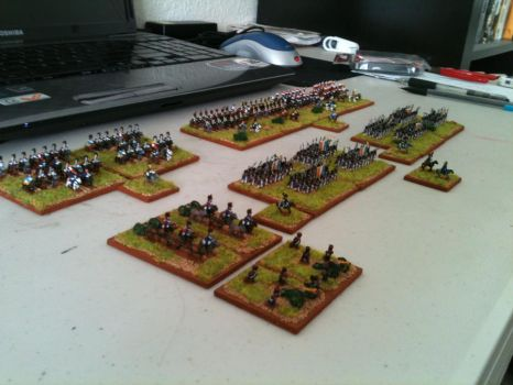 6mm Napoleonics 72 by DarvenTravos