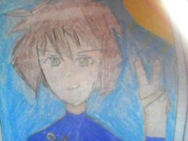 My anime drawing! by Tigereagle