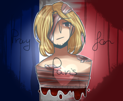 11.13.15 - Pray for Paris by Shiro-Crystal