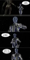 Liara's Fear by Deemonef