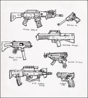Firearms .1 by squinkyproductions
