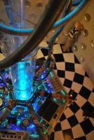 Custom TARDIS Console Room by crazyfoalrus