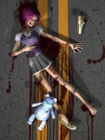 Road Kill Mary by RedWireDesigns