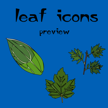 Leaf icons by romp9