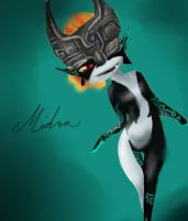 Midna doodle by Krochuu