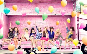Girls Generation - Love and Girls by LuannaMaria