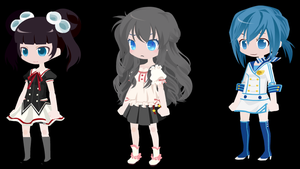 DTA Adoptables 3 :OPEN: by yourbeatiful