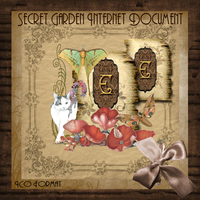 Secret Garden Internet Document by TheAngeldove