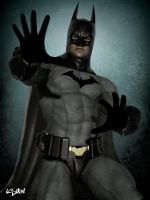 BATMAN ARKHAM CITY TEXTURES for M4 by isikol