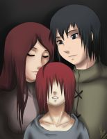 Nagato's Parents by xXUnicornXx