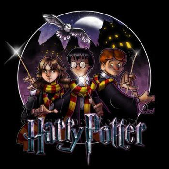 Harry Potter by jonpinto