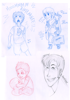 Gavin Sketch Dump by PapaSamOLD