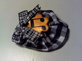 Music Brooch by GothicDorothy