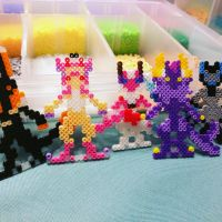 [More Added] YCH Closed Species Perler Minis by CordialCrow
