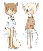 .:*[ 005-006 (CLOSED) ]*:. by cowcow-adopts