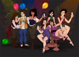 NewYear Party Time by Ravietta