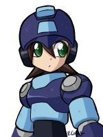 MegaMan Volnutt practice by rongs1234