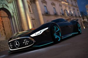Mercedes-Benz AMG Vision GT Racing Series by llkll64
