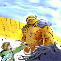 Colossus Unaware by NoBullet