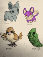 Yellow Nuzlocke by littlewoodlouse