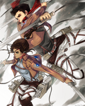 Attack on Titan x Legend of Korra Crossover by PencilPaperPassion