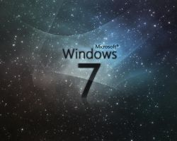 Windows 7 Galaxy by MandarBalshankar