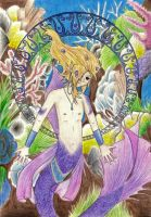 Mythical Creatures: Merman by blazing-eyes