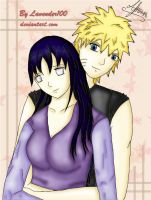 naruhina colored by lavender100