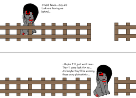 Aed Plus Fence Equals... by Evil-Hamster-O-Doom