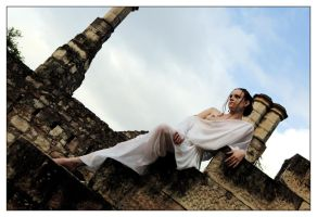 Angel of the Castle 5 by wildplaces