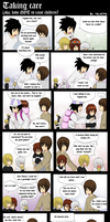 Death Note: Taking care by mayanna